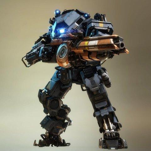 Télécharger objet 3D gratuit Titanfall Ion, Z-mech