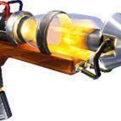 Free STL Fortnite Vaccuum Tube Rifle, Z-mech