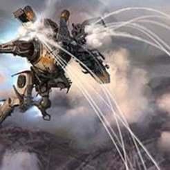 Télécharger plan imprimante 3D gatuit Titanfall Northstar ornement, Z-mech