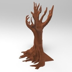 Download 3D printing files Tree book end, Sceadugenga