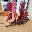 3D printer models Assassin's Creed Jackdaw, Sceadugenga