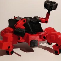3D printer models Just Cause 3 Mech, Sceadugenga