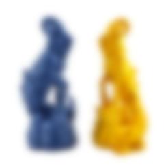 Download free 3D printer designs Enki the Capricorn (Single Material version), Capricorn