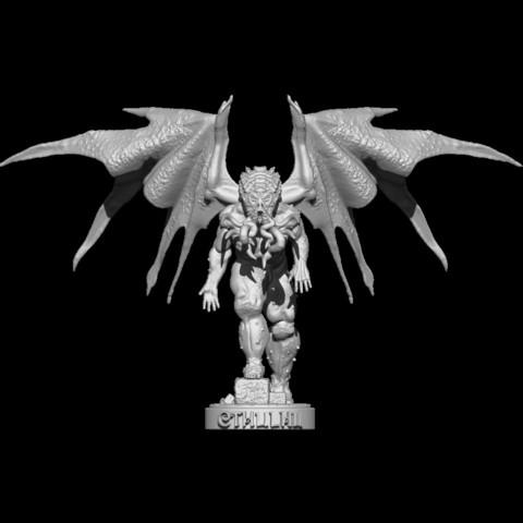 Descargar archivos 3D Cthulhu, EnkilRivera