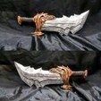 Descargar diseños 3D Espada del Caos (Dios de la Guerra), EnkilRivera