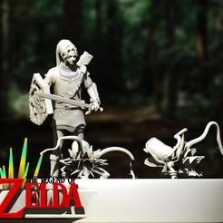 Link.jpg Download OBJ file Link - The Legend of Zelda • 3D printing template, EnkilRivera