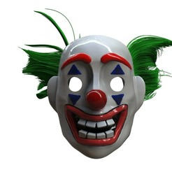 Download 3D printer files The Joker Mask - Arthur Fleck 2019, EnkilRivera
