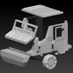 Download 3D printing models Vehículo de batalla, EnkilRivera