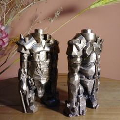 torre.jpg Download STL file Ajedrez Medieval - Torre Humano • Design to 3D print, EnkilRivera
