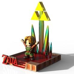 Link 1.jpg Download OBJ file Link - Zelda • 3D printable model, EnkilRivera