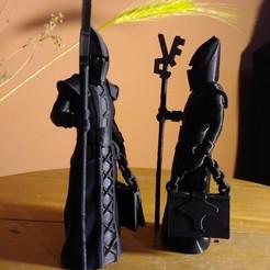 alfil demonio.jpg Download OBJ file Ajedrez Medieval - Alfil Demonio • 3D printing template, EnkilRivera