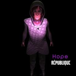 h1.jpg Download STL file Hope Republique game • Model to 3D print, EnkilRivera