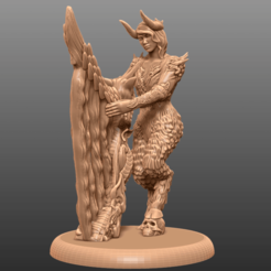 Download free 3D printer files Monster Queen - Tabletop Miniature, M3DM