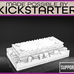 Download free 3D printing designs Crypt - Tabletop Scatter Terrain, M3DM