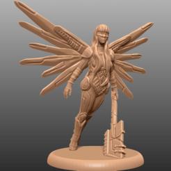 Descargar modelos 3D gratis Cyberpunk Angel - Miniatura de mesa, M3DM