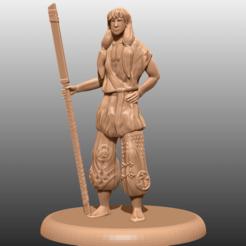 Télécharger fichier 3D gratuit Samouraï errant - Miniature de table, M3DM