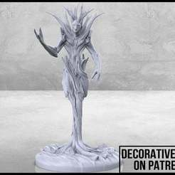 Treant_1-01.jpg Download free STL file Treant - Tabletop Miniature • 3D printing template, M3DM
