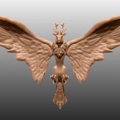 Impresiones 3D gratis Peryton - Miniatura de mesa, M3DM
