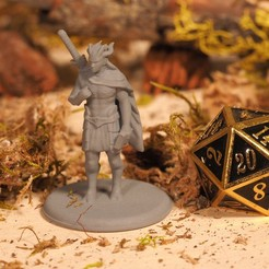 Download free STL file Elven Minotaur - Tabletop Miniature, M3DM
