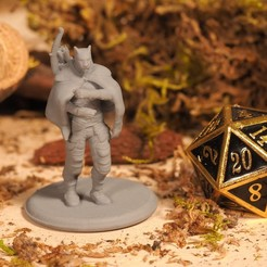 Download free 3D model Tabaxi Ranger - Tabletop Miniature, M3DM