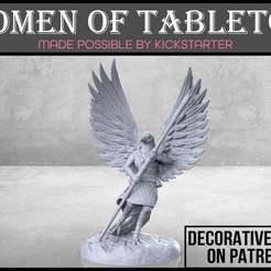 Eaglefolk_Monk_1-01.jpg Télécharger fichier STL gratuit Moine aigle - Miniature de table • Design imprimable en 3D, M3DM