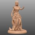 Télécharger fichier imprimante 3D gratuit Umberlee - Sea Queen - Miniature de table, M3DM