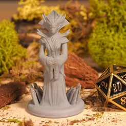 Download 3D printer files Head Enchantress - Tabletop Miniature, M3DM