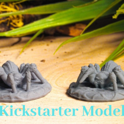 Download free 3D printing models Supportless Spider - Kickstarter Test Model, M3DM
