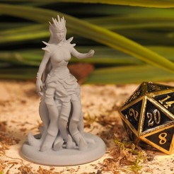 Download free 3D printer templates Umberlee - Tabletop Miniature, M3DM