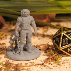 Download STL file Subnautical - Tabletop Miniature, M3DM