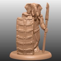 Descargar archivos 3D gratis Loxodon - Miniatura de mesa, M3DM