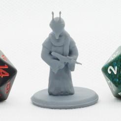 Download free 3D printing models Desert Alien - Tabletop Miniature, M3DM