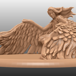 Descargar modelos 3D gratis Harpy - Miniatura de mesa, M3DM