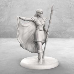 Descargar archivos 3D gratis Tablero de mesa Elven Mage en miniatura, M3DM