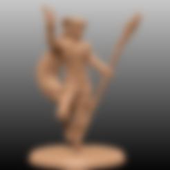 Descargar diseños 3D gratis Brujo de Tiefling - Miniatura de mesa, M3DM