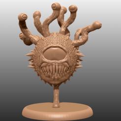 Download free 3D printing files Beholder - Unofficial Fan Art, M3DM