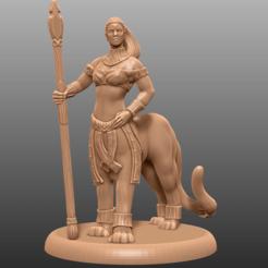 Descargar diseños 3D gratis Lamia Lion Variant - Tabletop Miniatura, M3DM