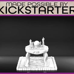 Download free 3D printer model Crystal Ball - Tabletop Scatter Terrain, M3DM