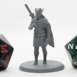Descargar modelos 3D gratis Elven Minotauro - Miniatura de mesa, M3DM