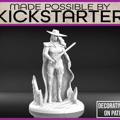 Monster_Hunter_1-01.jpg Download free STL file Monster Hunter - Tabletop Miniature • 3D printer object, M3DM