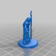 Télécharger modèle 3D gratuit Old Sage - Miniature de table, M3DM