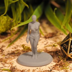 Download free STL Siren - Tabletop Miniature, M3DM