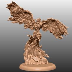 Descargar STL gratis Phoenix - Miniatura de mesa, M3DM