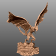 Download 3D printing models Undead Wyvern - Tabletop Miniature, M3DM