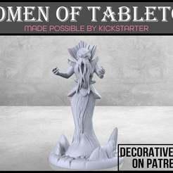 Cthulian_Cultist_1-01.jpg Download free STL file Cthulian Cultist - Tabletop Miniature • 3D print template, M3DM