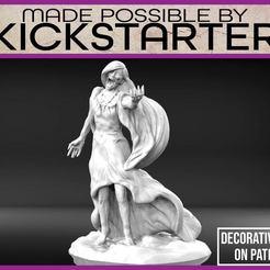 Descargar modelo 3D gratis Banshee - Miniatura de mesa, M3DM