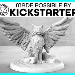 Descargar Modelos 3D para imprimir gratis Tressym - Pose casual - Tabletop Miniatura, M3DM