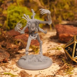 Télécharger fichier 3D Skeleton King - Miniature de table, M3DM