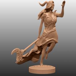 Télécharger plan imprimante 3D gatuit Druid - Miniature de table, M3DM