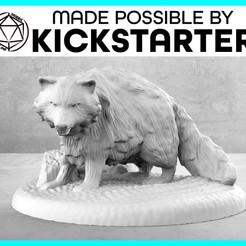 Descargar Modelos 3D para imprimir gratis Mapache - Pose de Acción - Tabletop Miniatura, M3DM